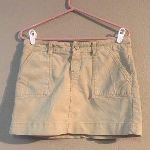 Ran Gap 1969 Size 4 Mini Skirt